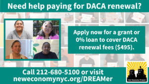 DACA Renewal Loan Fund image