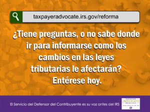 1024x768-TaxpayerAdvocateServiceTaxReformSiteSpanish image