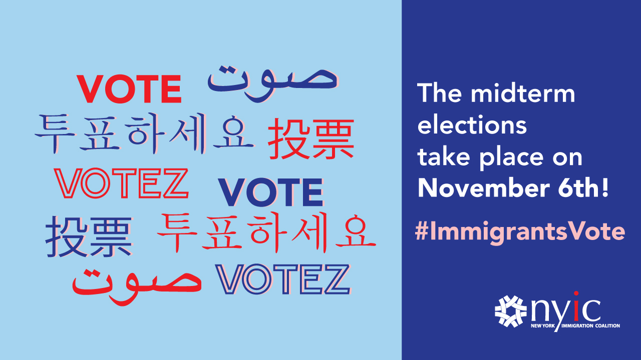 Immigrants Vote banner