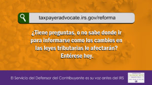 1920x1080-TaxpayerAdvocateServiceTaxReformSiteSpanish image