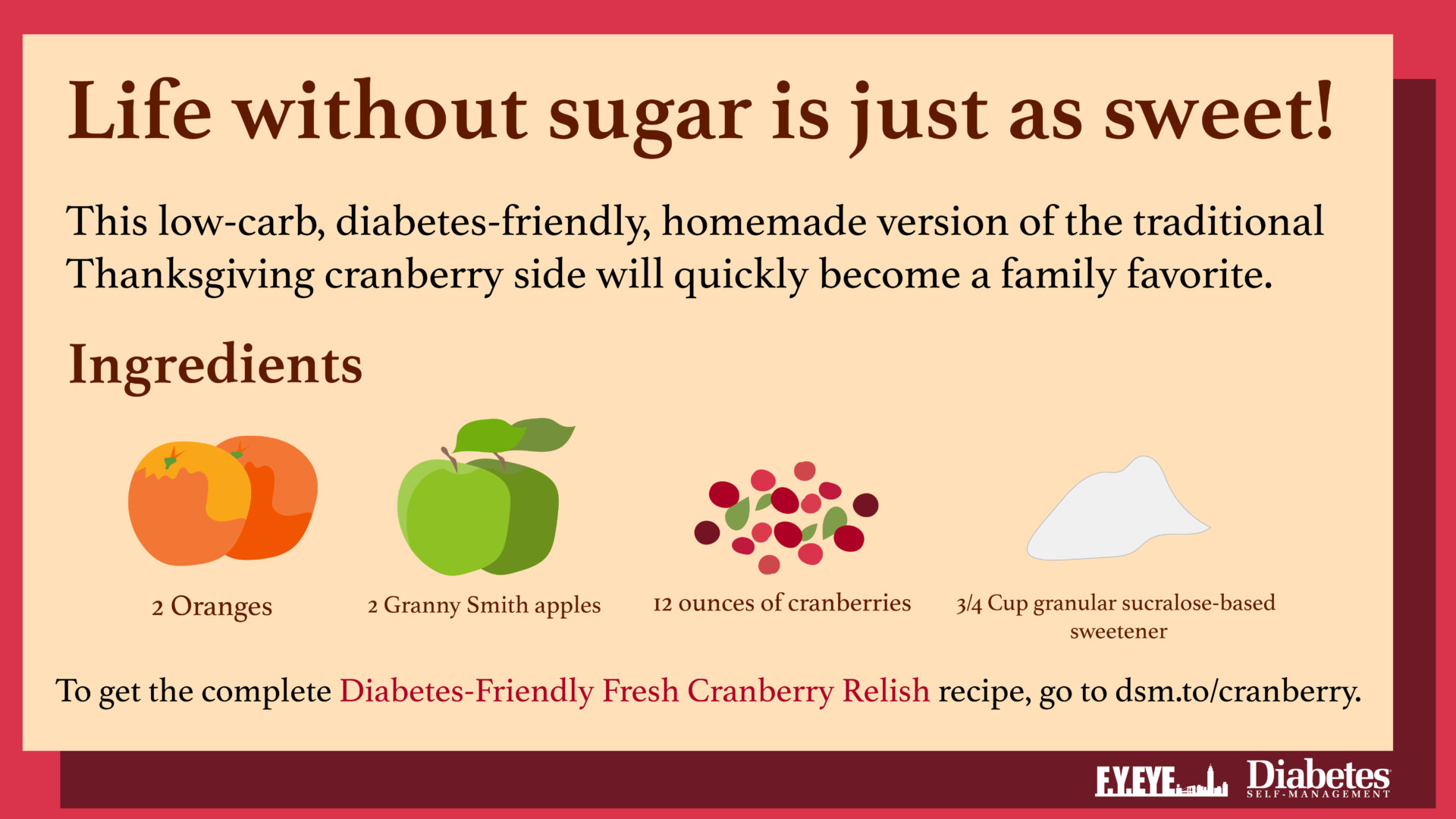 Diabetes-Friendly Recipes banner