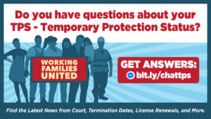 Temporary Protected Status (TPS) Chatline image