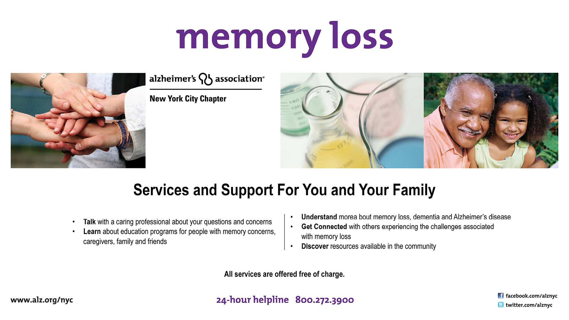 Alzheimer's Support Services banner