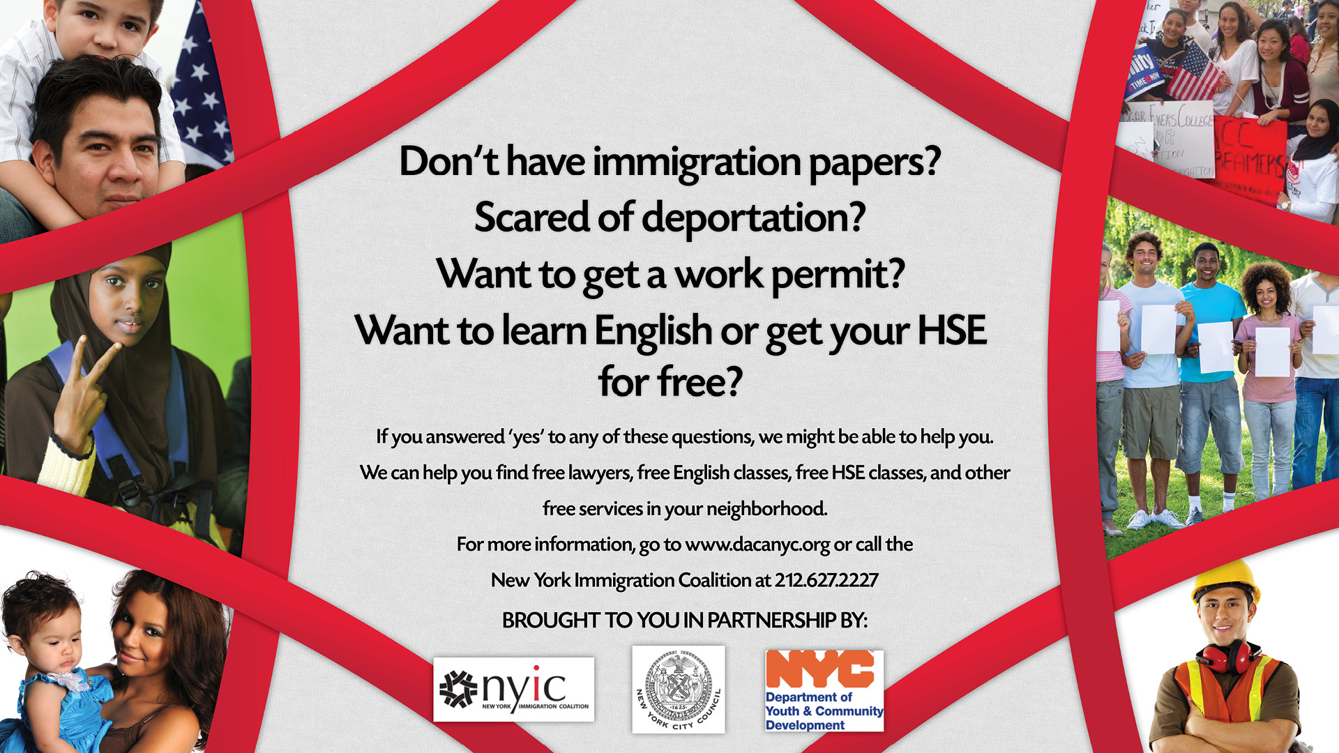 Free Immigration Services banner