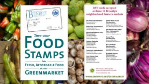 Greenmarket Nutrition Benefits Program image