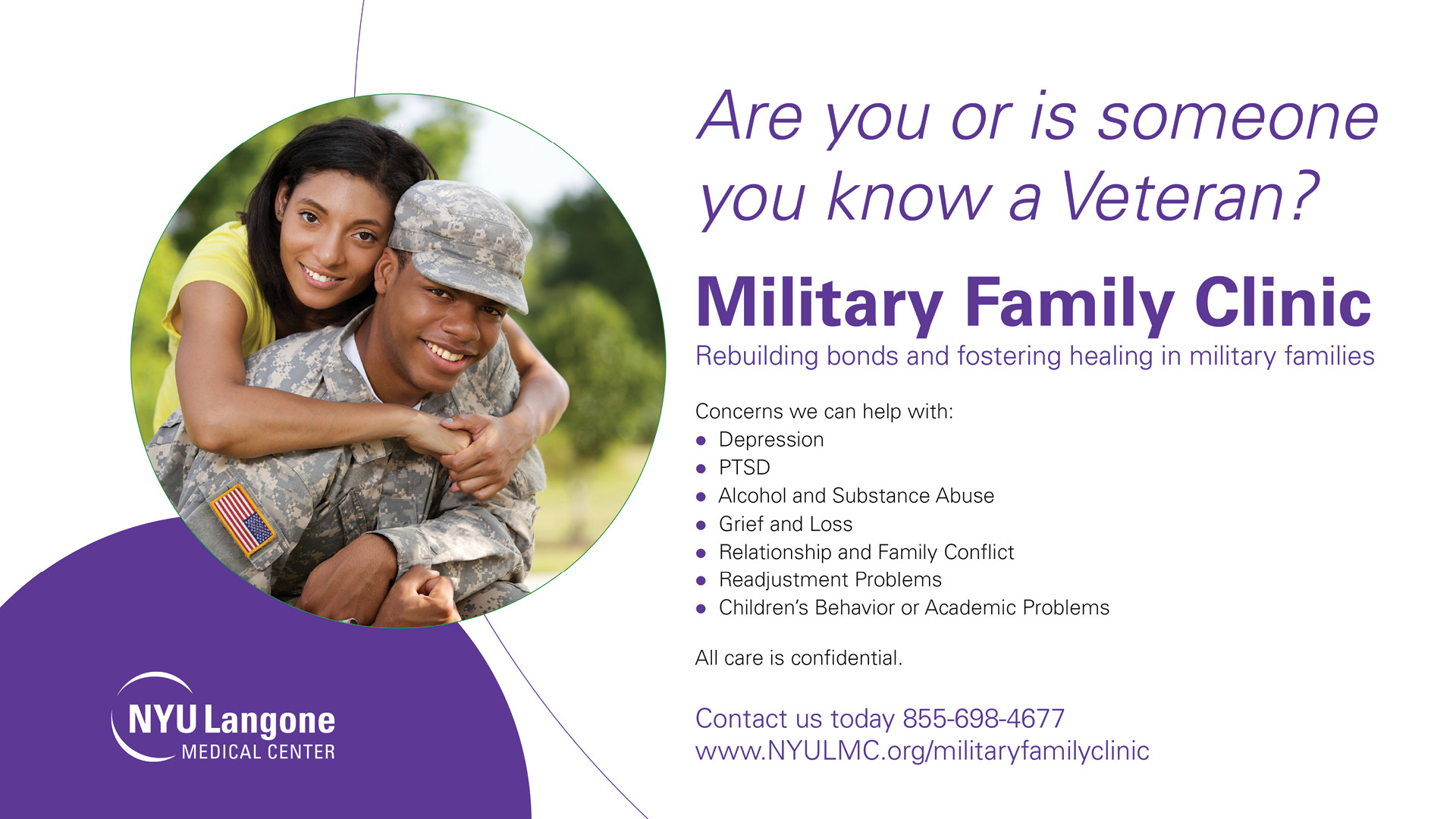 Veterans Mental Health Services banner