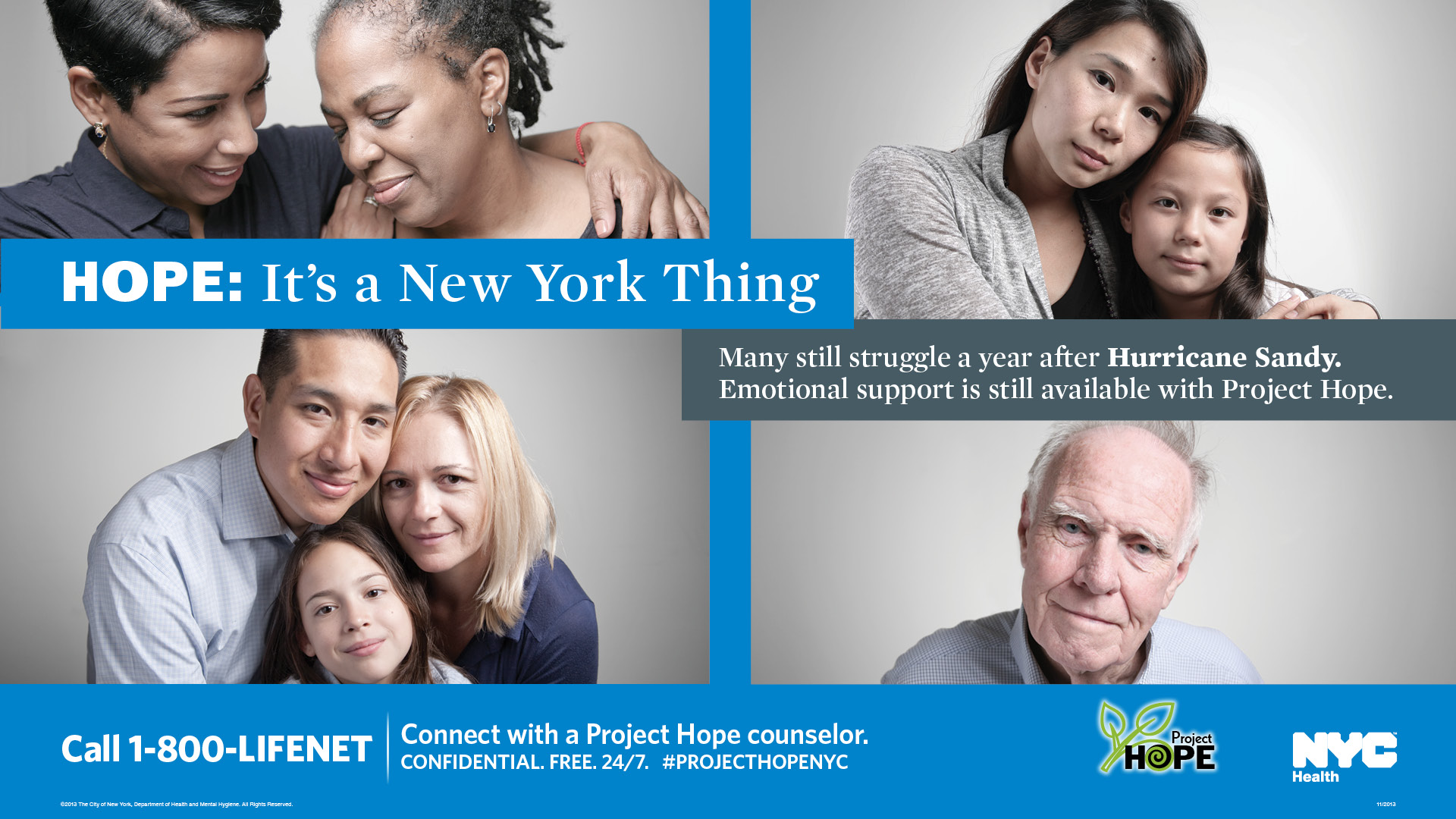 Hurricane Sandy Counseling Services banner