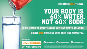 Choose Water, Not Soda image