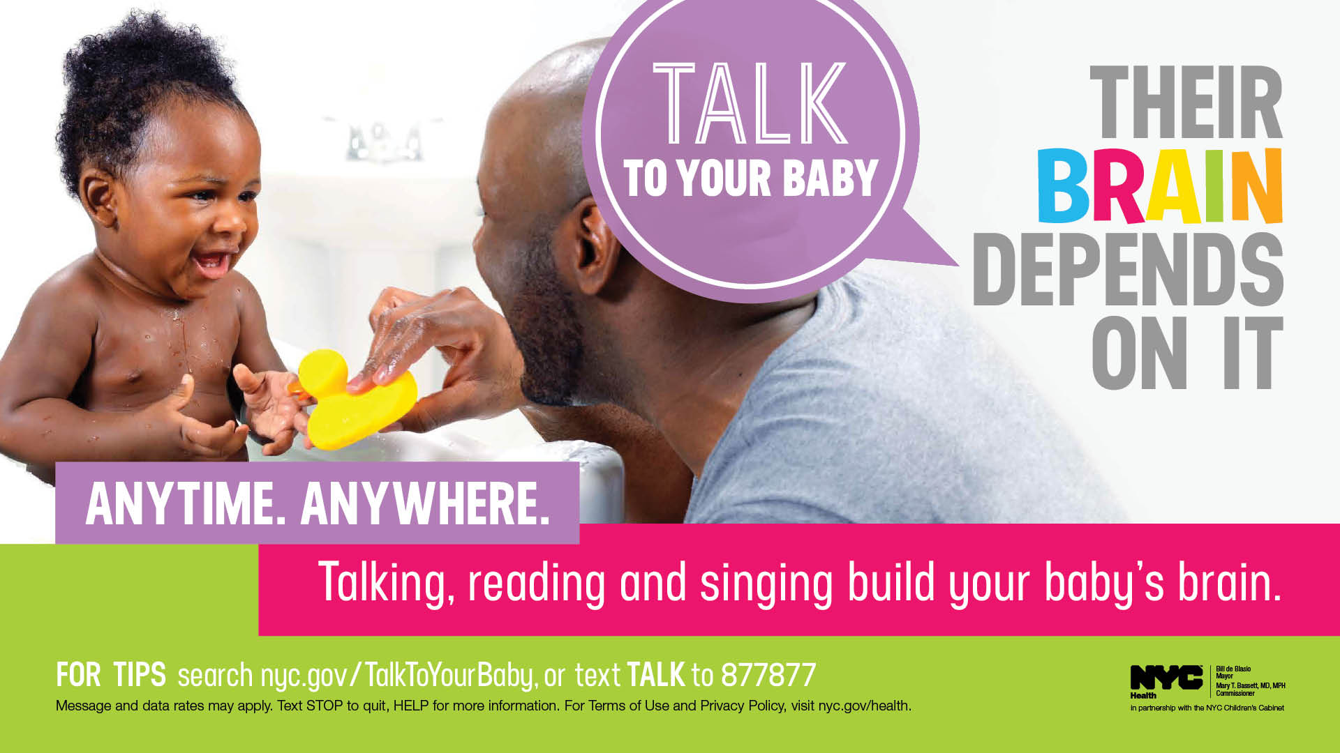 Talk To Your Baby banner