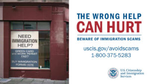 Immigration Scams image