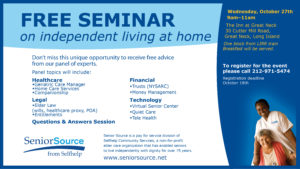 Independent Living Seminar image
