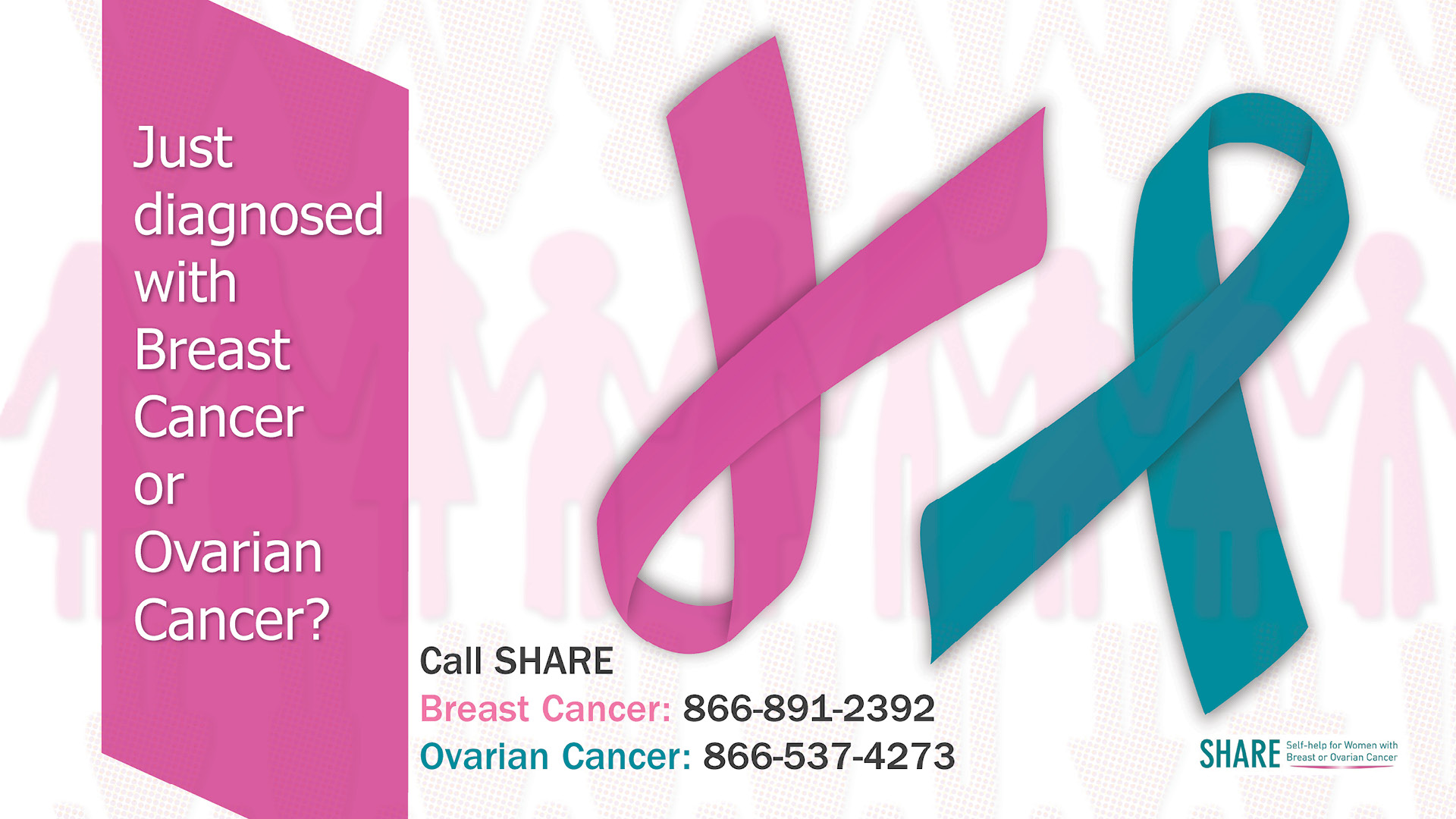 Breast and Ovarian Cancer Support banner