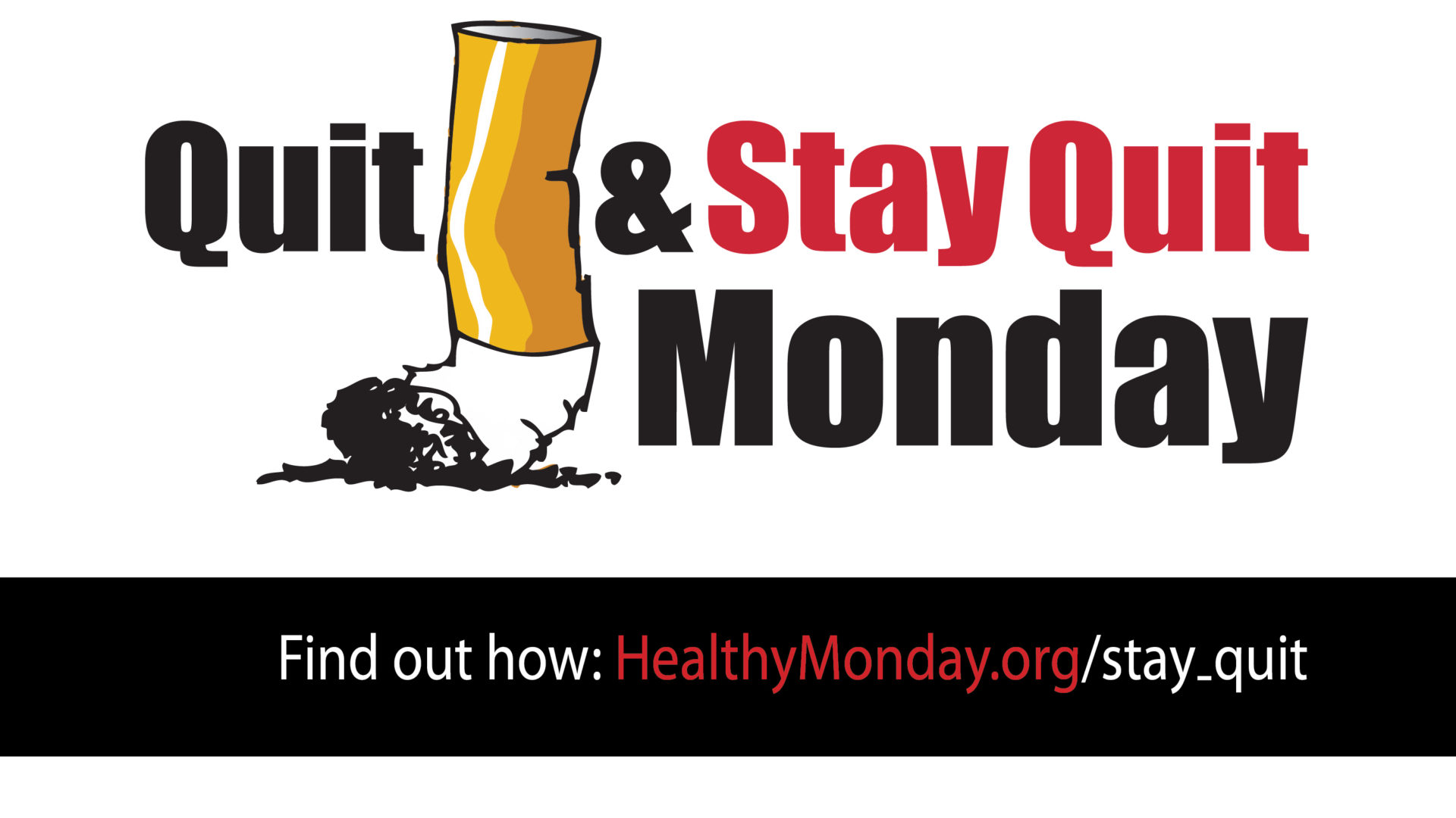 Quit Smoking and Stay Quit banner