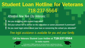 Veteran Student Loan Hotline image
