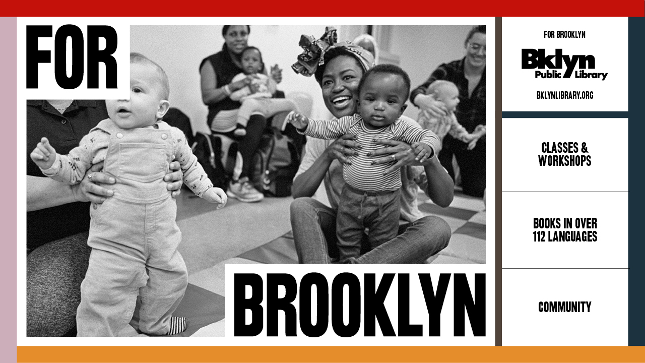 Free Brooklyn Public Library Services banner