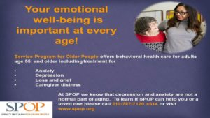 Mental Health Services for Seniors image