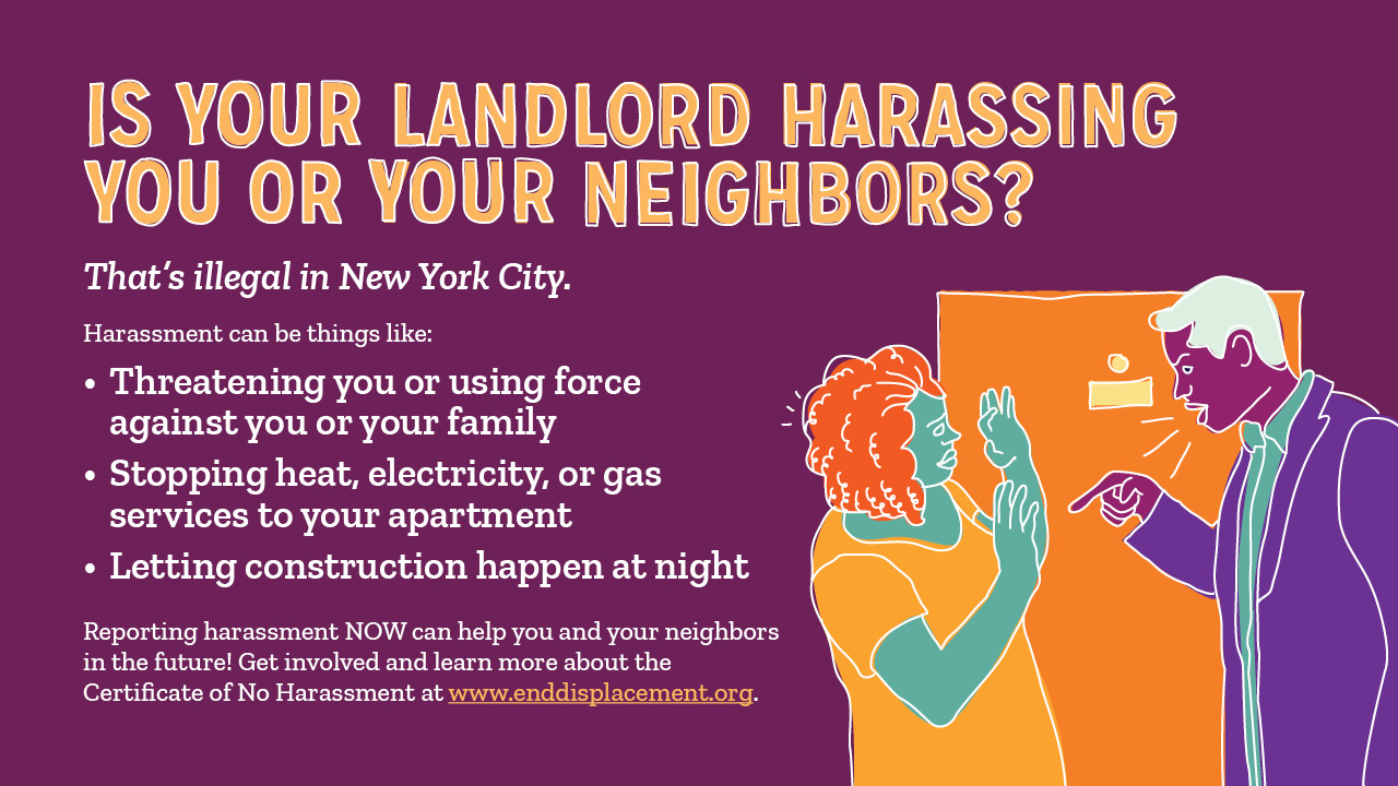 Is Your Landlord Harassing You? banner