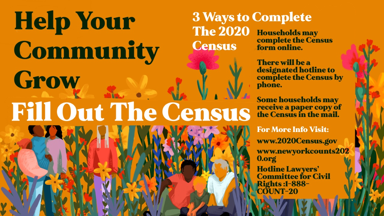 Complete the Census Today! banner