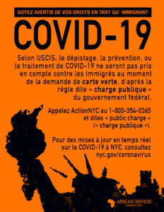 COVID 19 Public Charge - French 782 image
