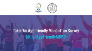 Age-Friendly Manhattan Survey image