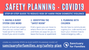 Safety Planning + COVID-19 image