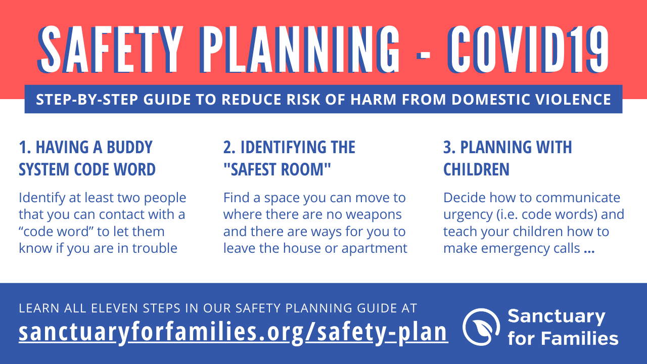 Safety Planning + COVID-19 banner