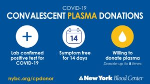 COVID-19 Plasma Donations image