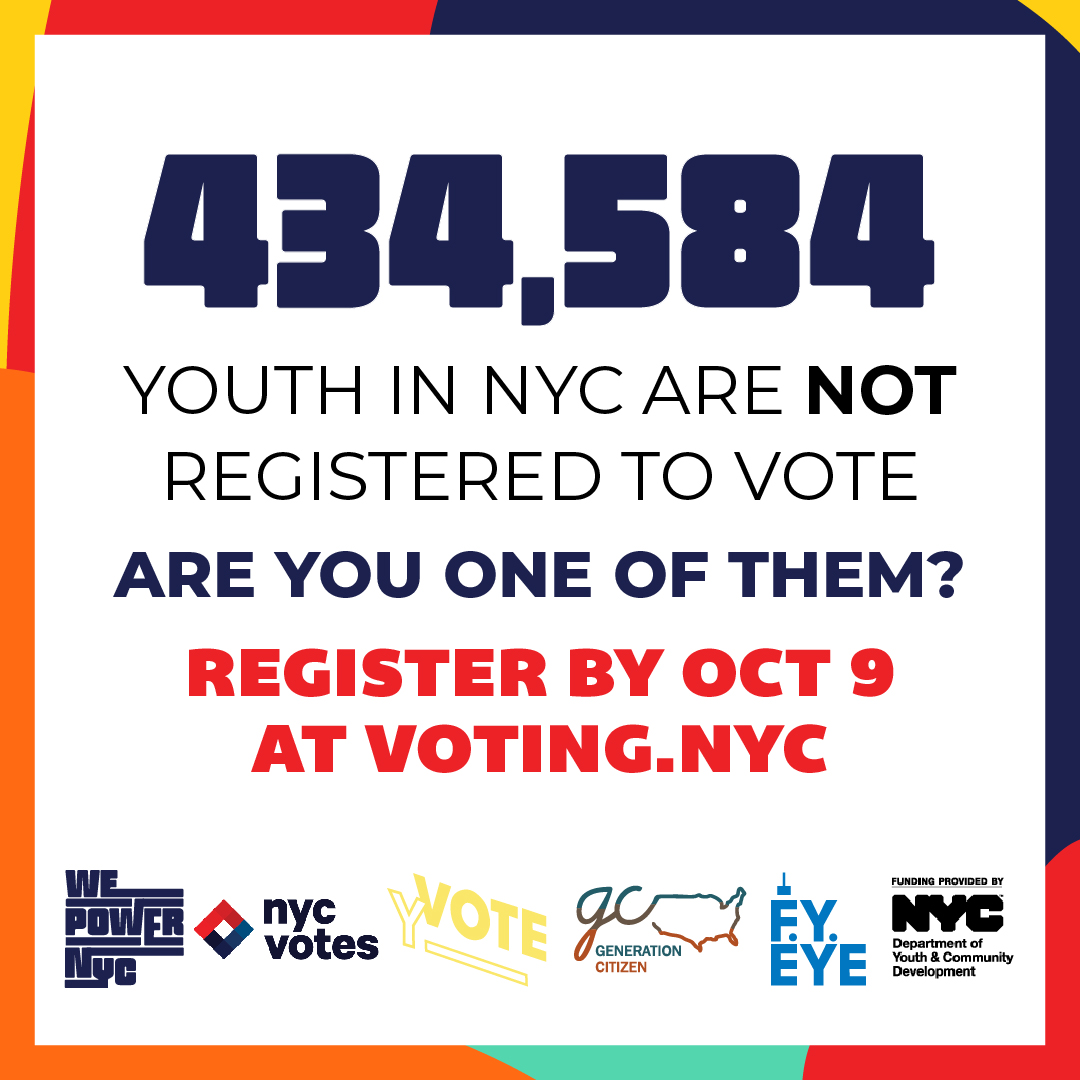Youth Register to Vote banner