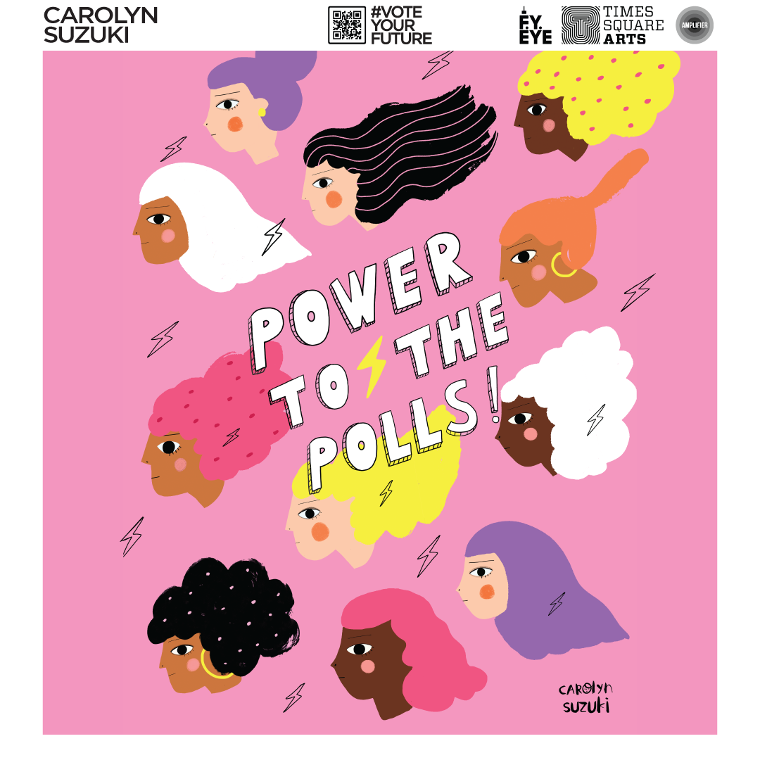Powers to the Polls banner