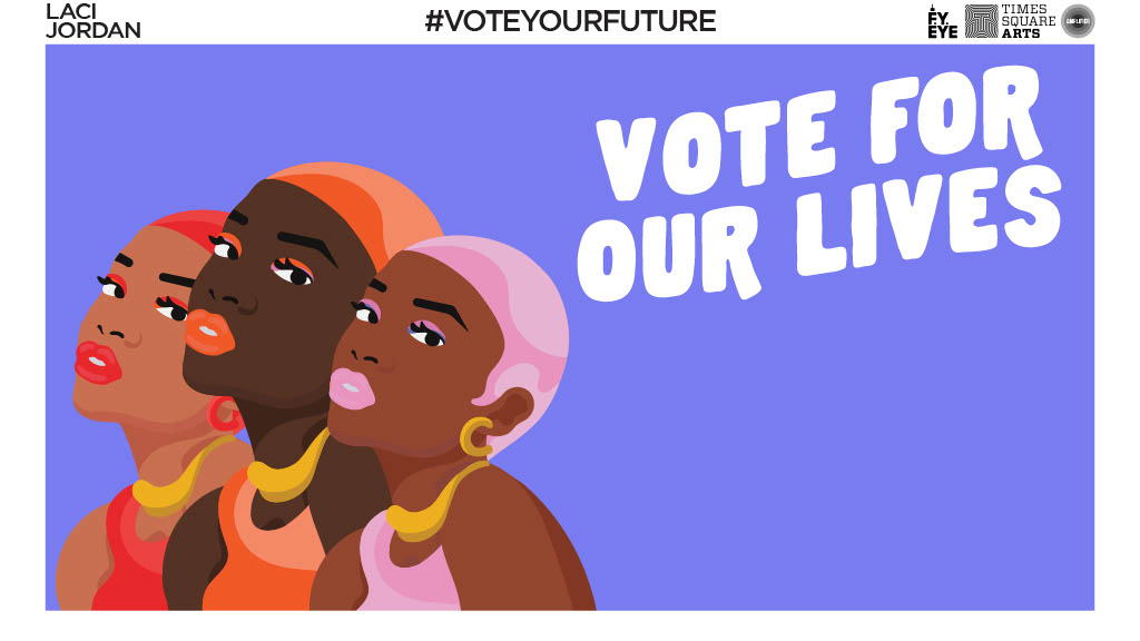 Vote For Our Lives banner