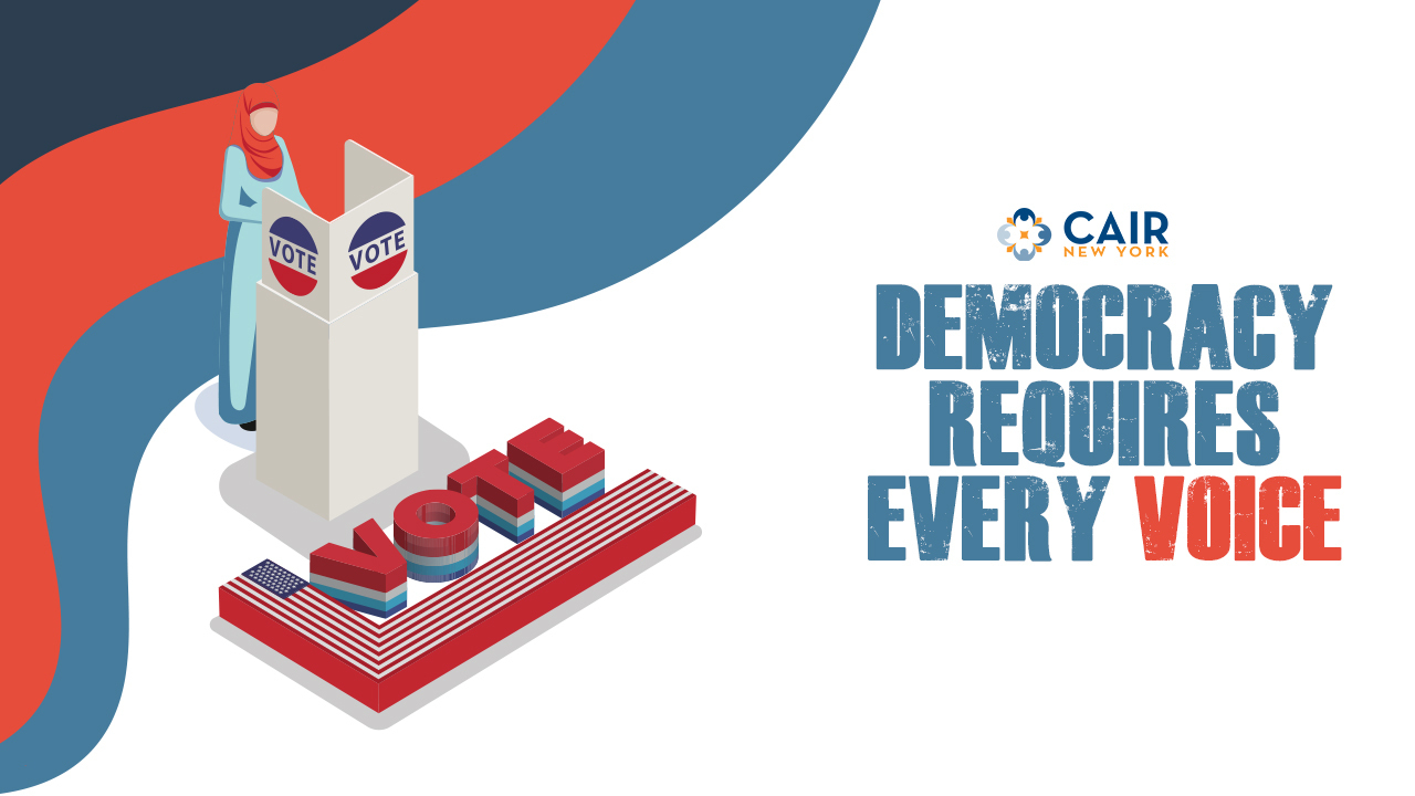 Democracy Requires Every Voice banner