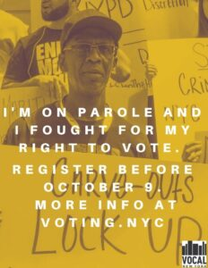 Formerly Incarcerated Vote image