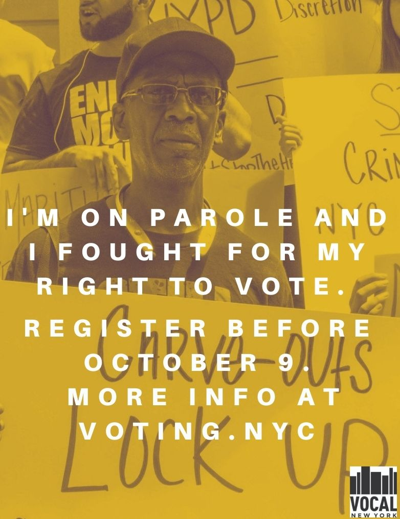 Formerly Incarcerated Vote banner