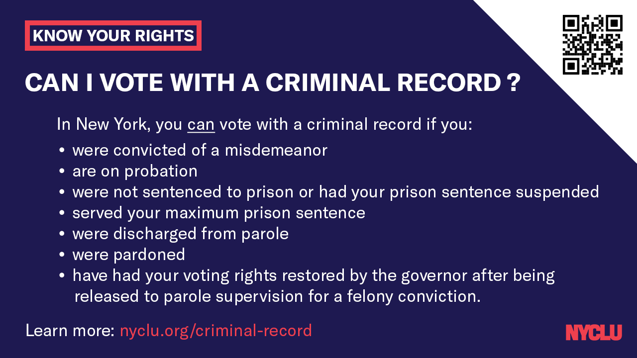 Voting with a Criminal Record banner