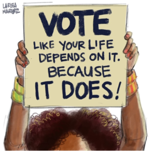 Vote Like Your Life Depends On It image