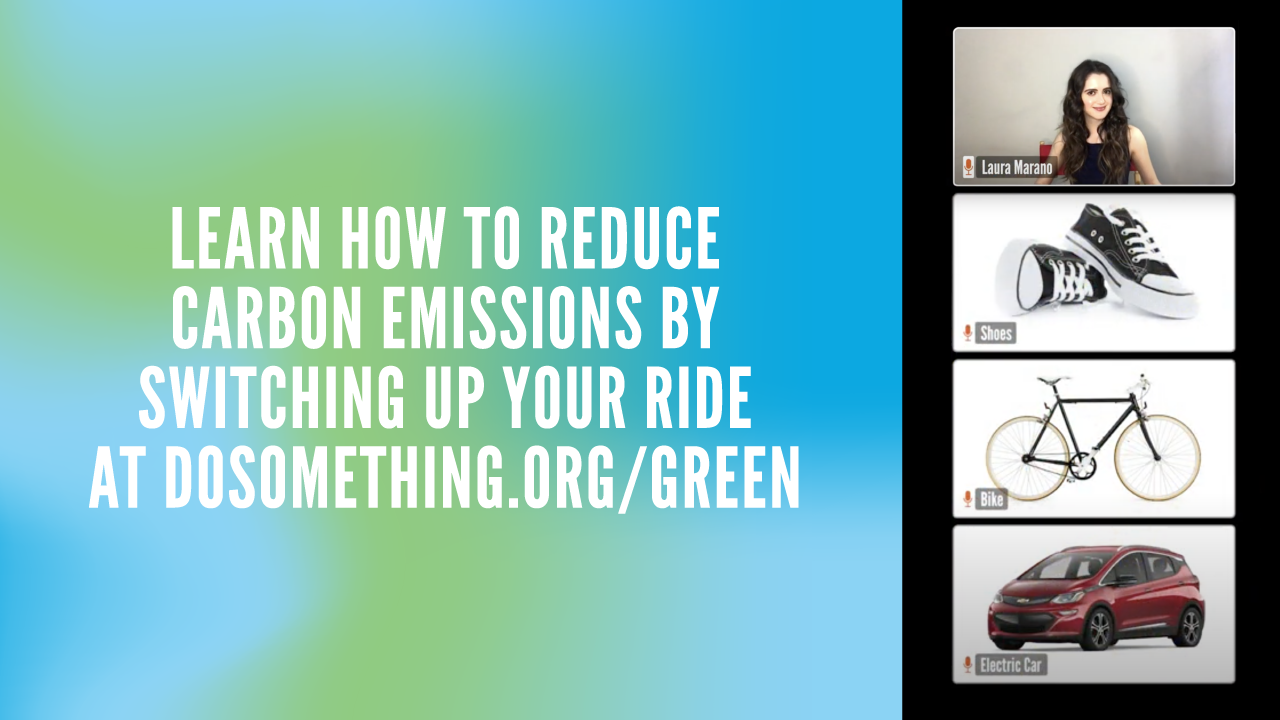 Reduce Your Carbon Footprint banner