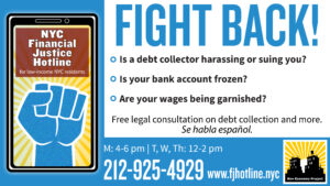 Financial Justice Hotline image