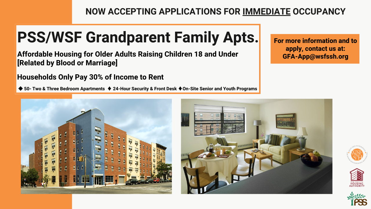 Grandparent Family Apartments banner