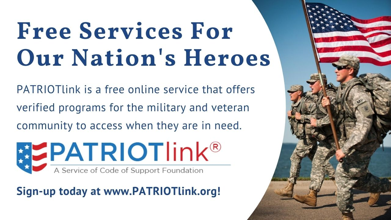 Free Services for Veterans banner