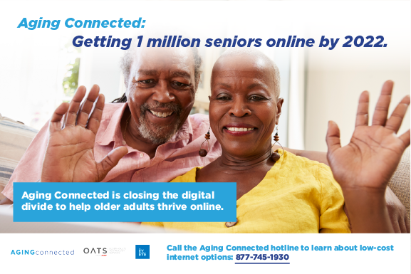 Aging Connected banner