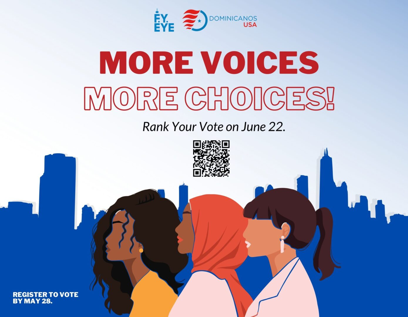 More Choices, More Voices banner