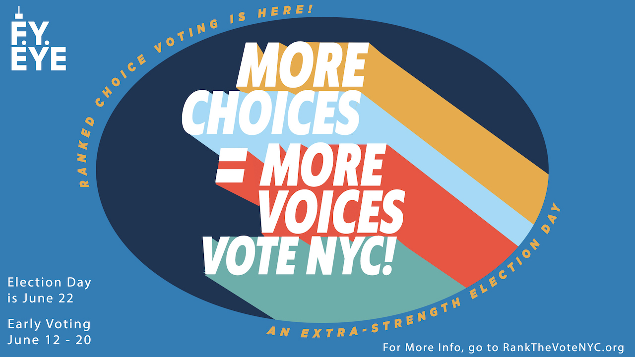 More Choice=More Voices banner