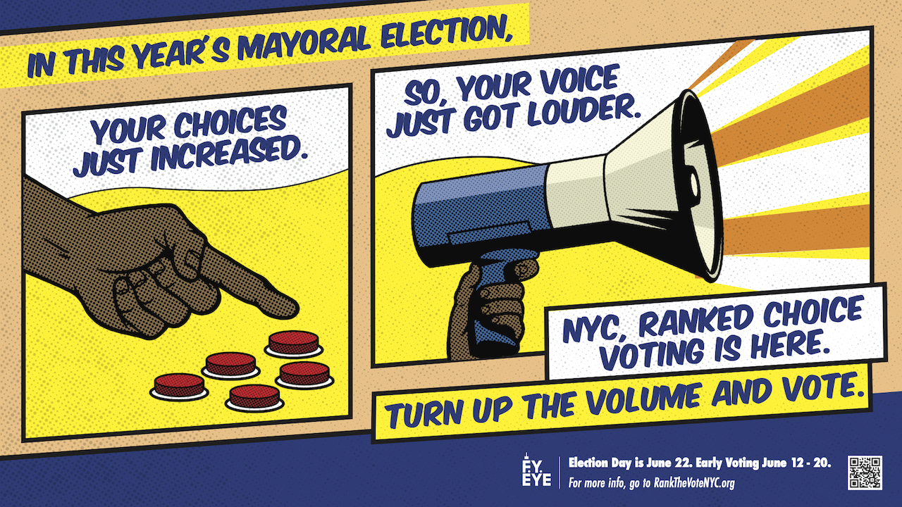 This Year's Mayoral Election banner