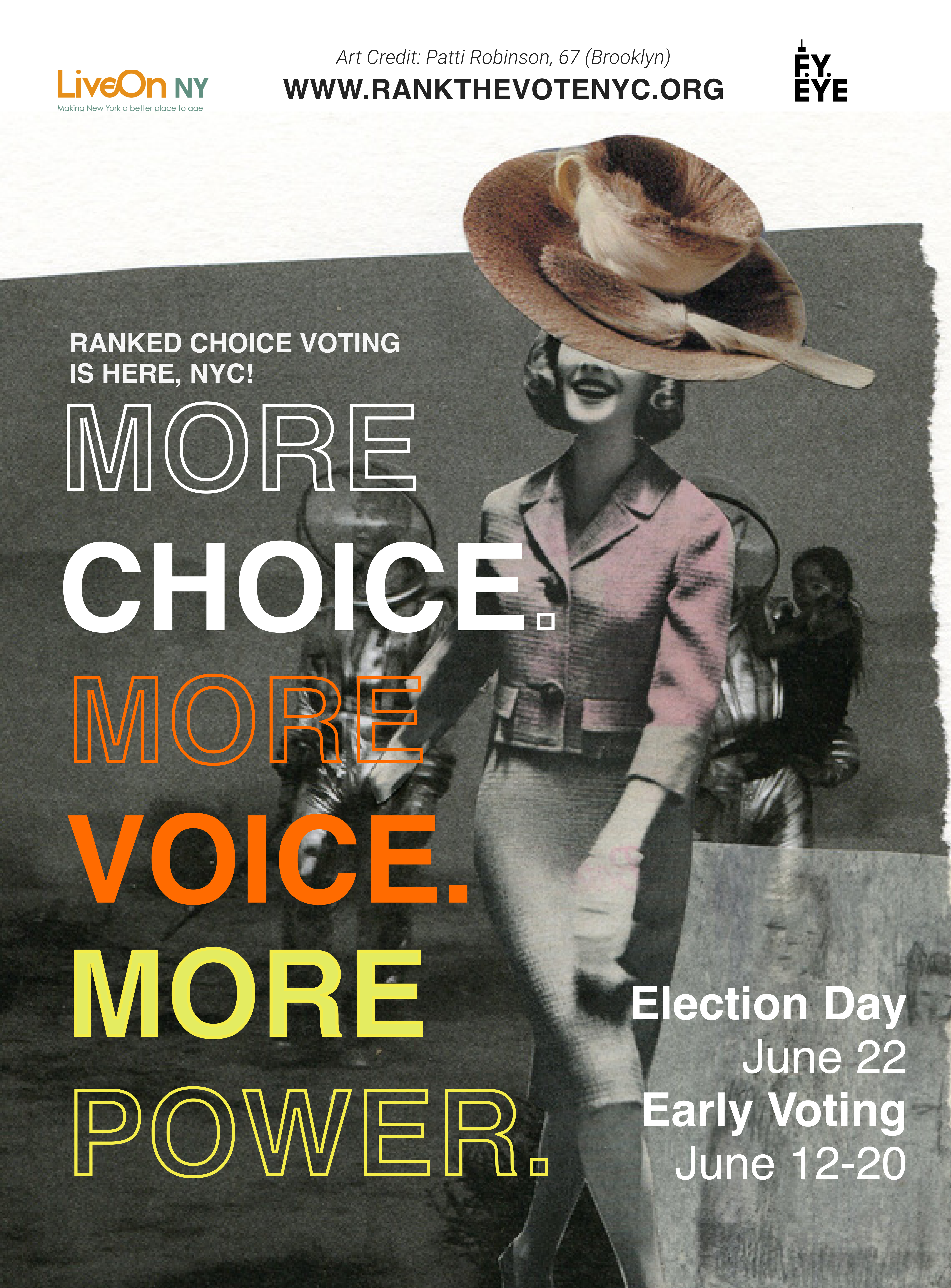 More Choice. More Voice. More Power banner