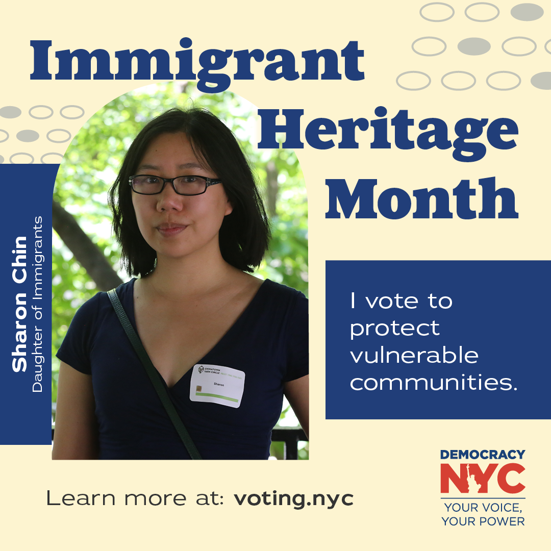 Immigrant Heritage Month banner