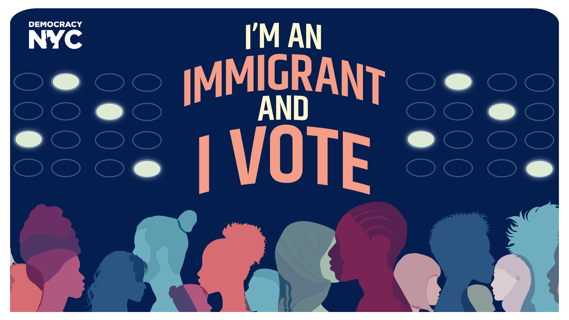 I'm an Immigrant and I Vote banner