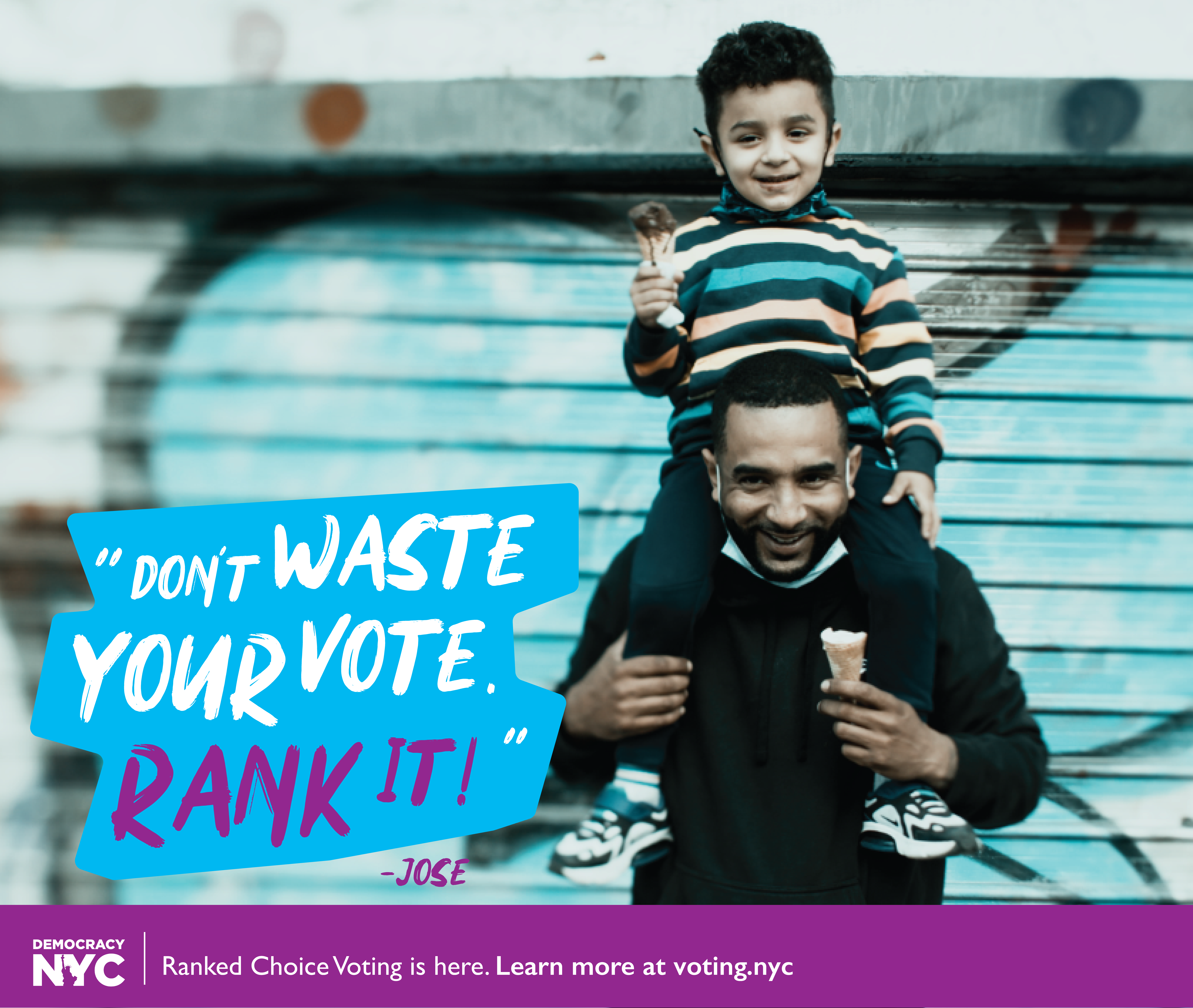 Don't Waste Your Vote Rank It! banner